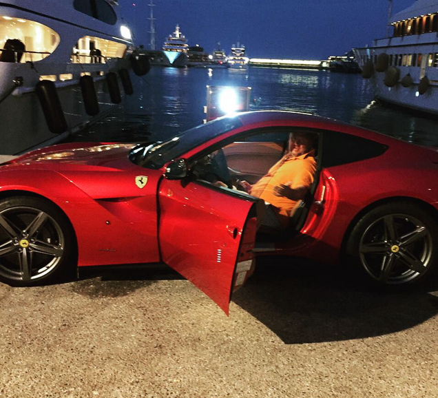 Потап в Ferrari