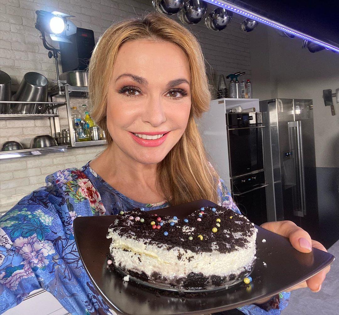 Ольга Сумская празднует день рождения в Египте