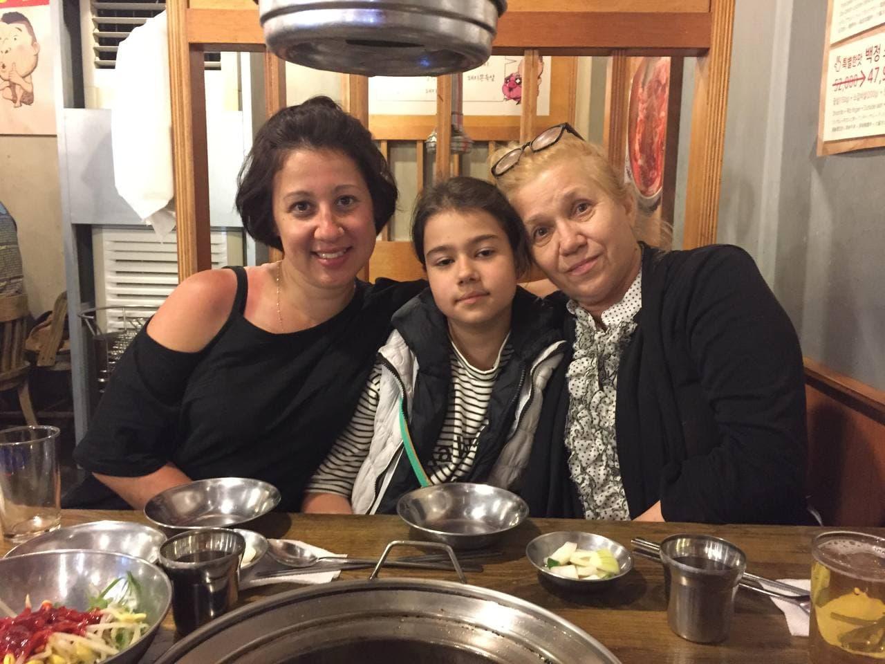 Татьяна Шагинян с мамой