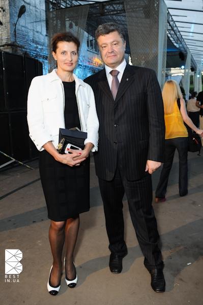 Марина и Петр Порошенко предпочитают классику