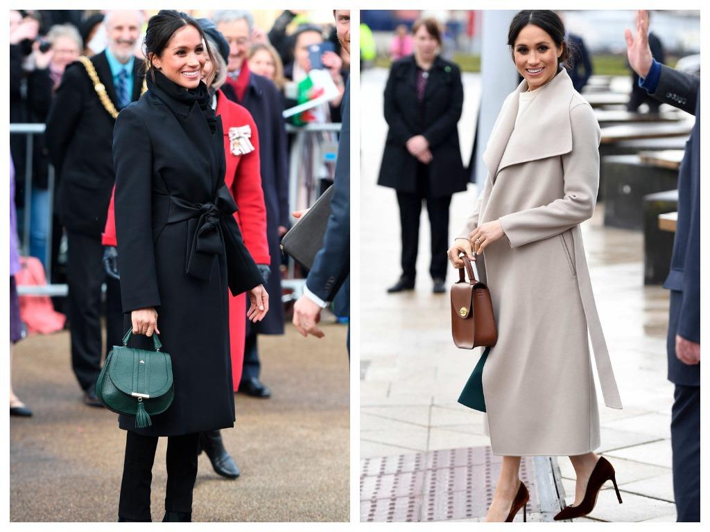 Стиль Меган Макрл: Модные пальто