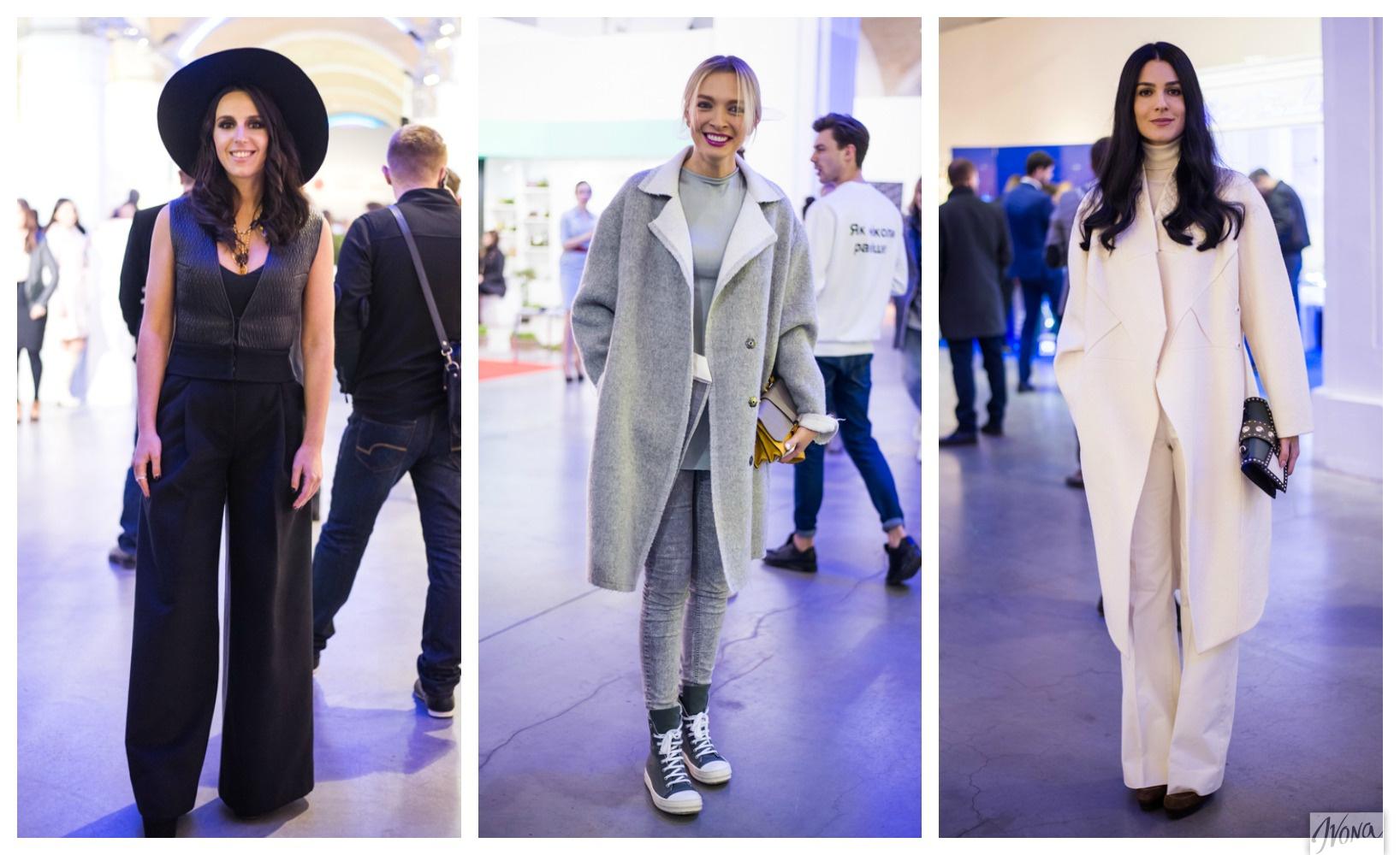 Украинские звезды посетили Украинскую неделю моды