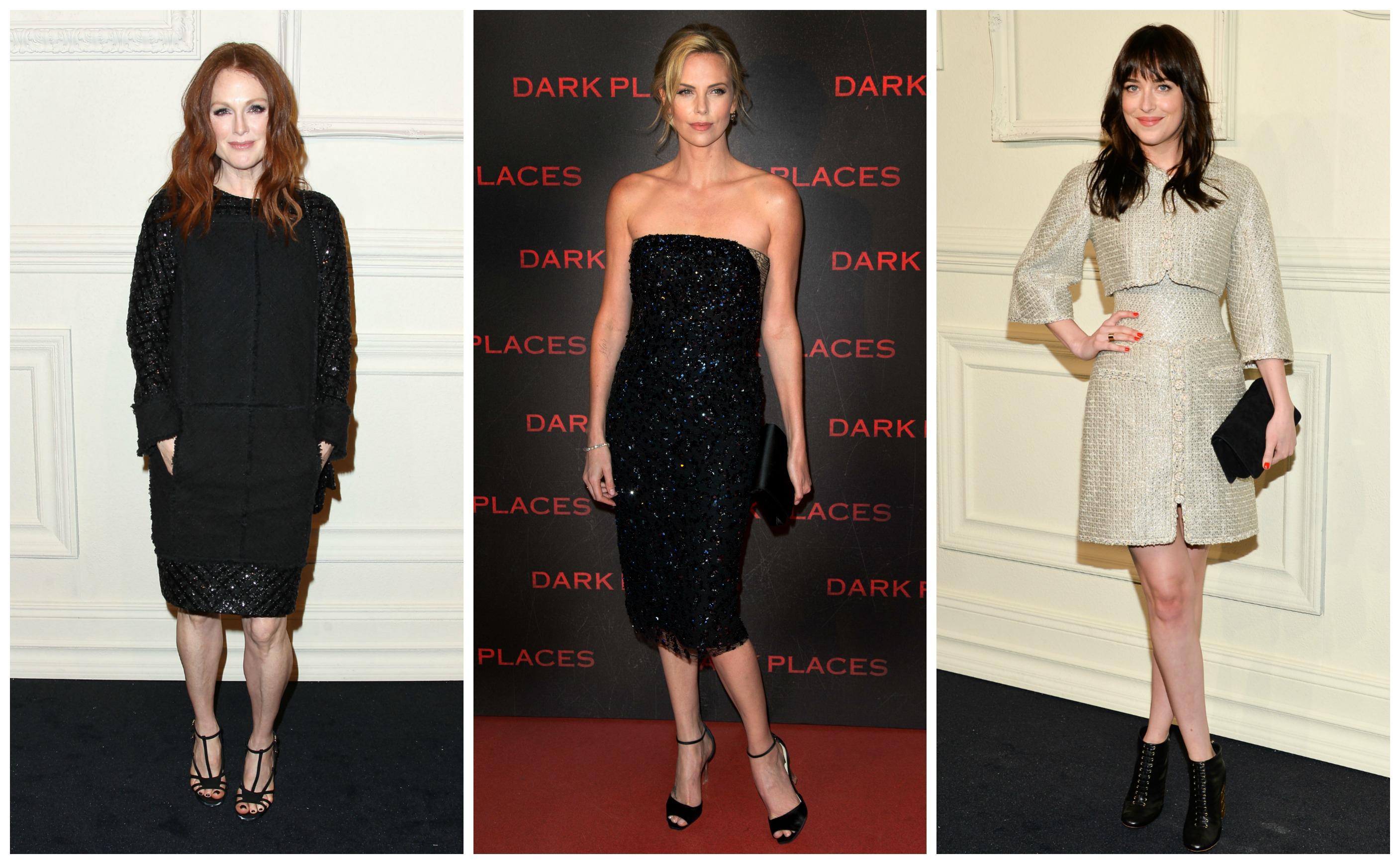 Звездные модницы блистали в шикарных нарядах от известных модных домов