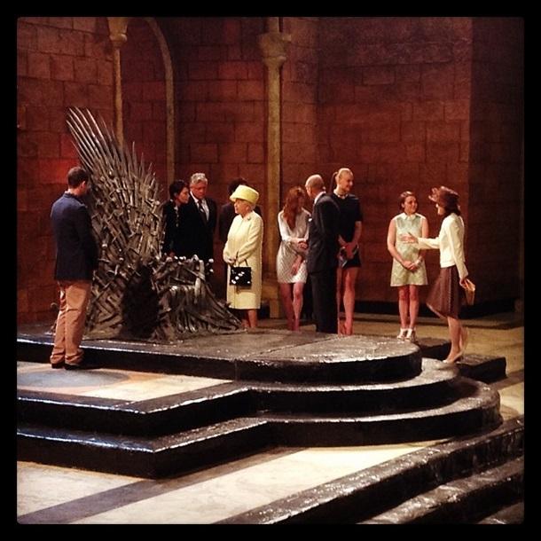 Фото, опубликованное в твиттере Букингемского дворца