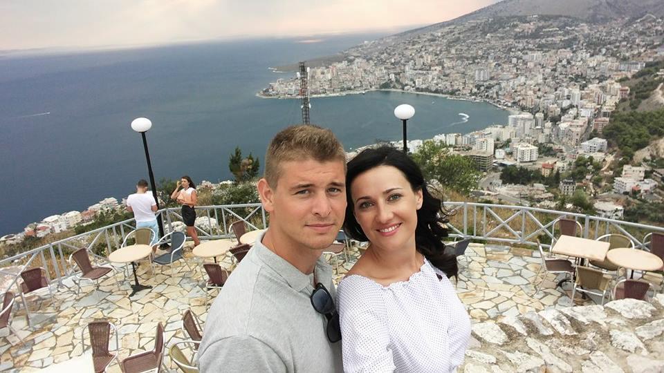 Соломия и Влад в Саранде