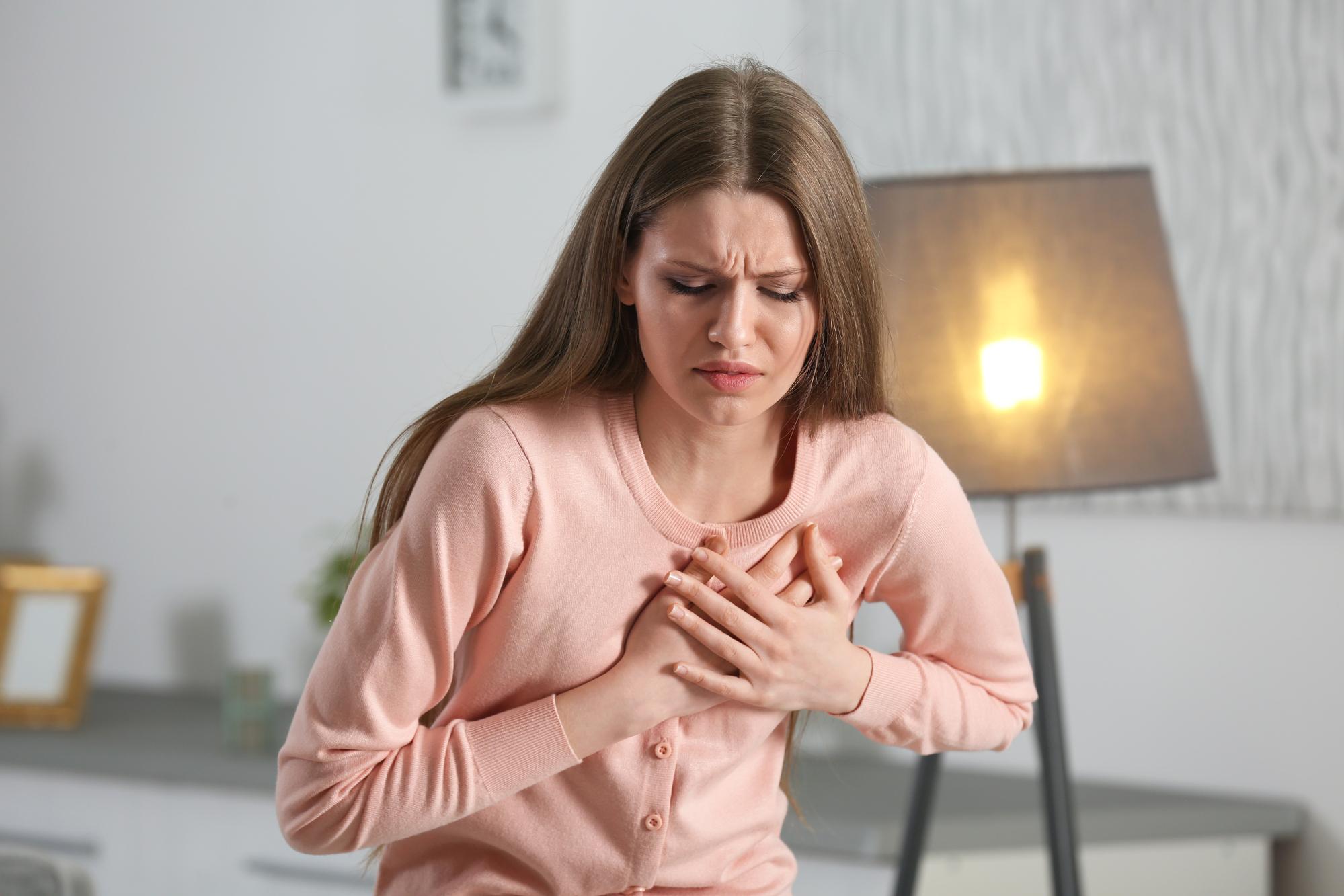 Кардиолог рассказала,  почему возникают боли в области сердца и в грудной клетке.