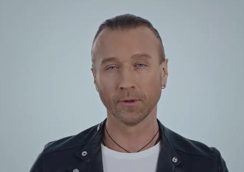 Олег Винник в ролике в поддержку украинского языка