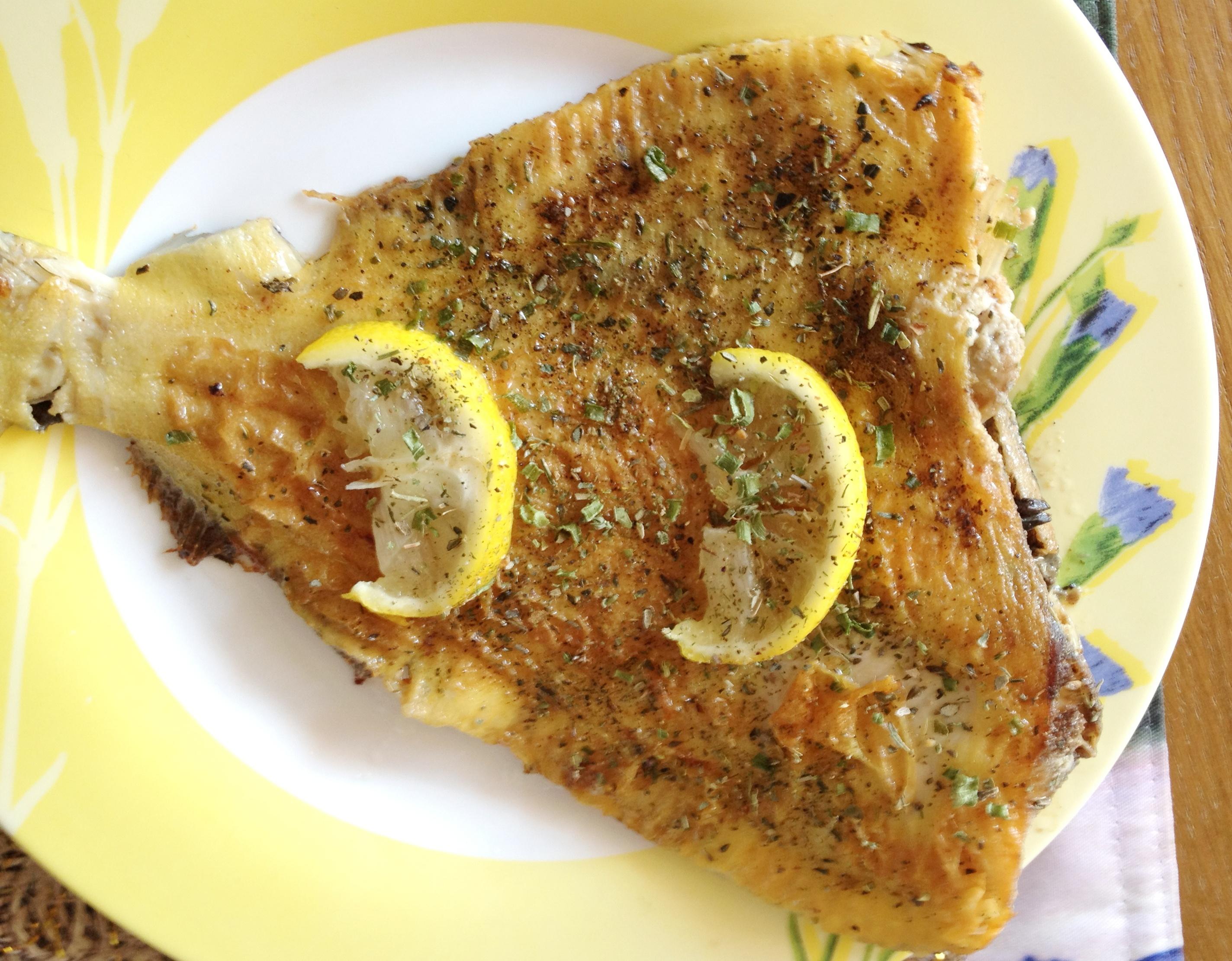 Камбала с лимоном в духовке рецепты