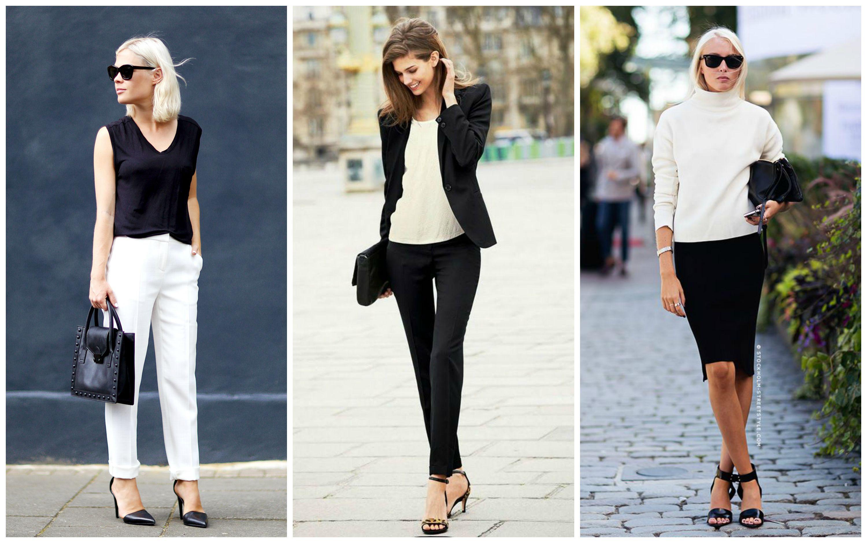Модные образы сочетание одежды