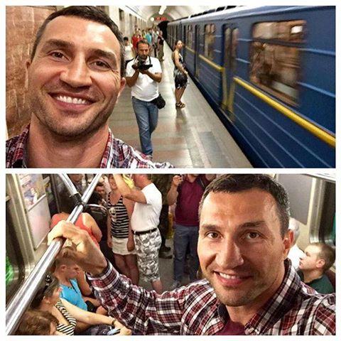 Владимир в метро