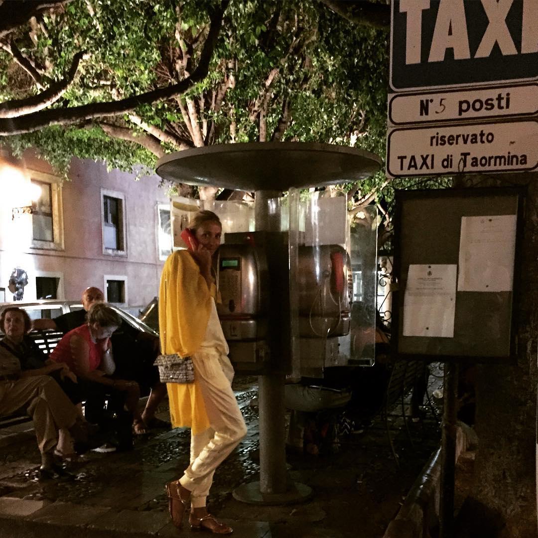 Татьяна в Италии