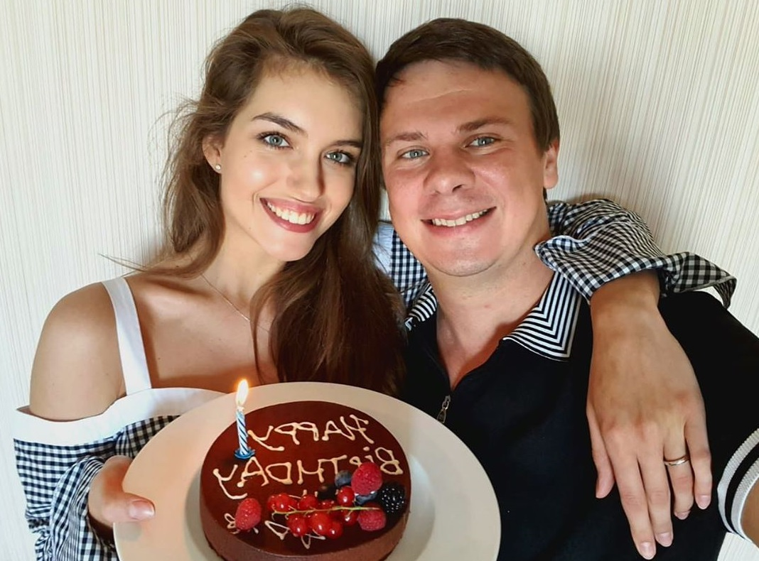 Дмитрий Комаров прокомментировал 15-летнюю разницу в возрасте с красавицей-женой
