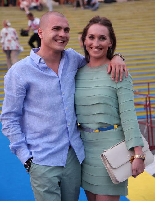 Анастасия со своим мужем Григорием