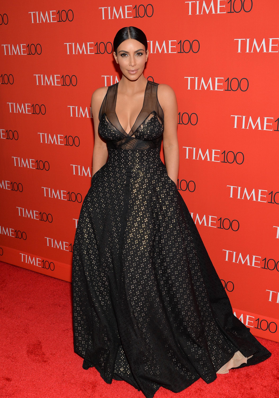 Ким Кардашян на премии Time 100 gala