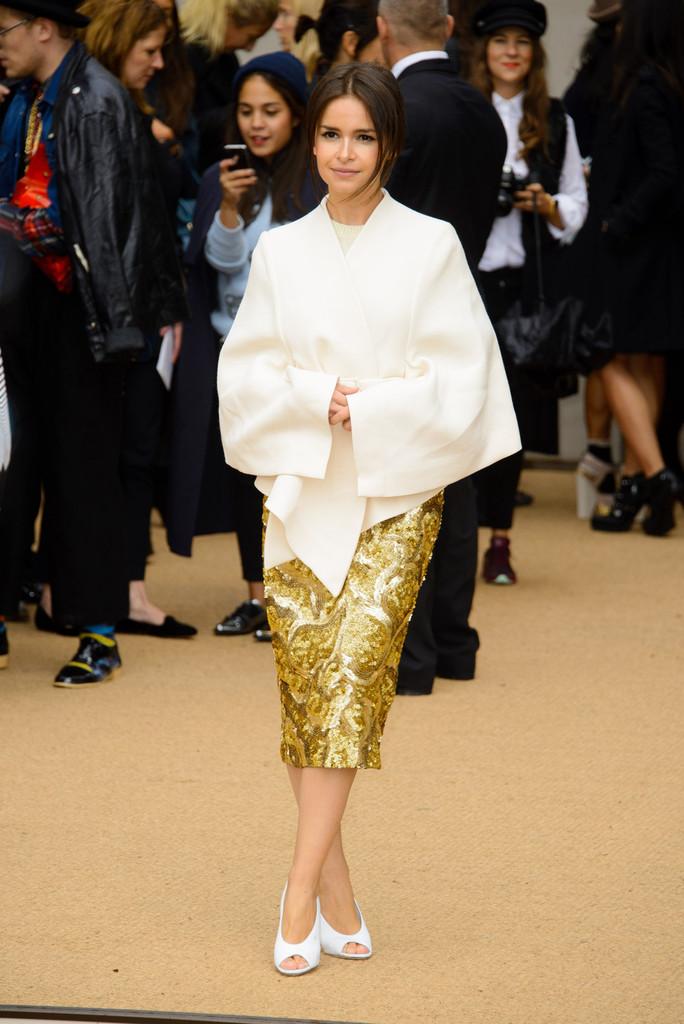 Мирослава Дума интересуется не только модой, но и благотворительностью