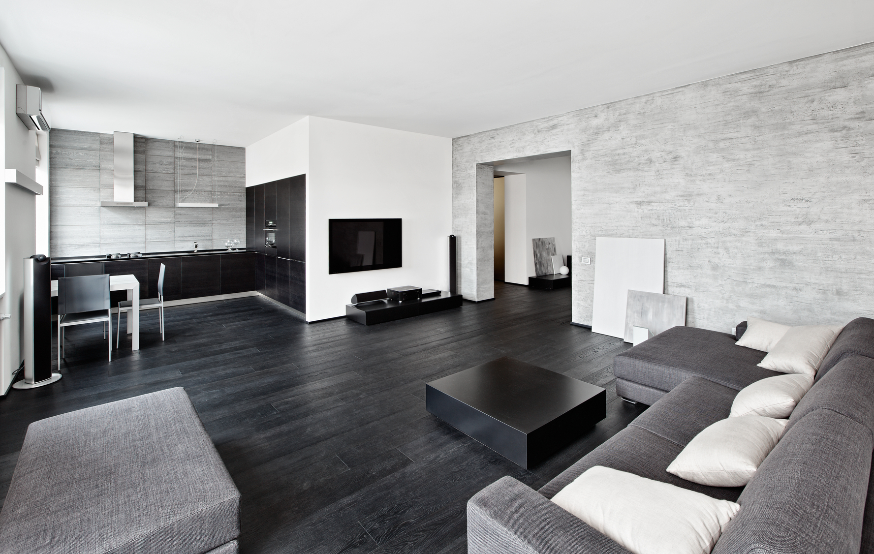 for Modern minimalist house interior design