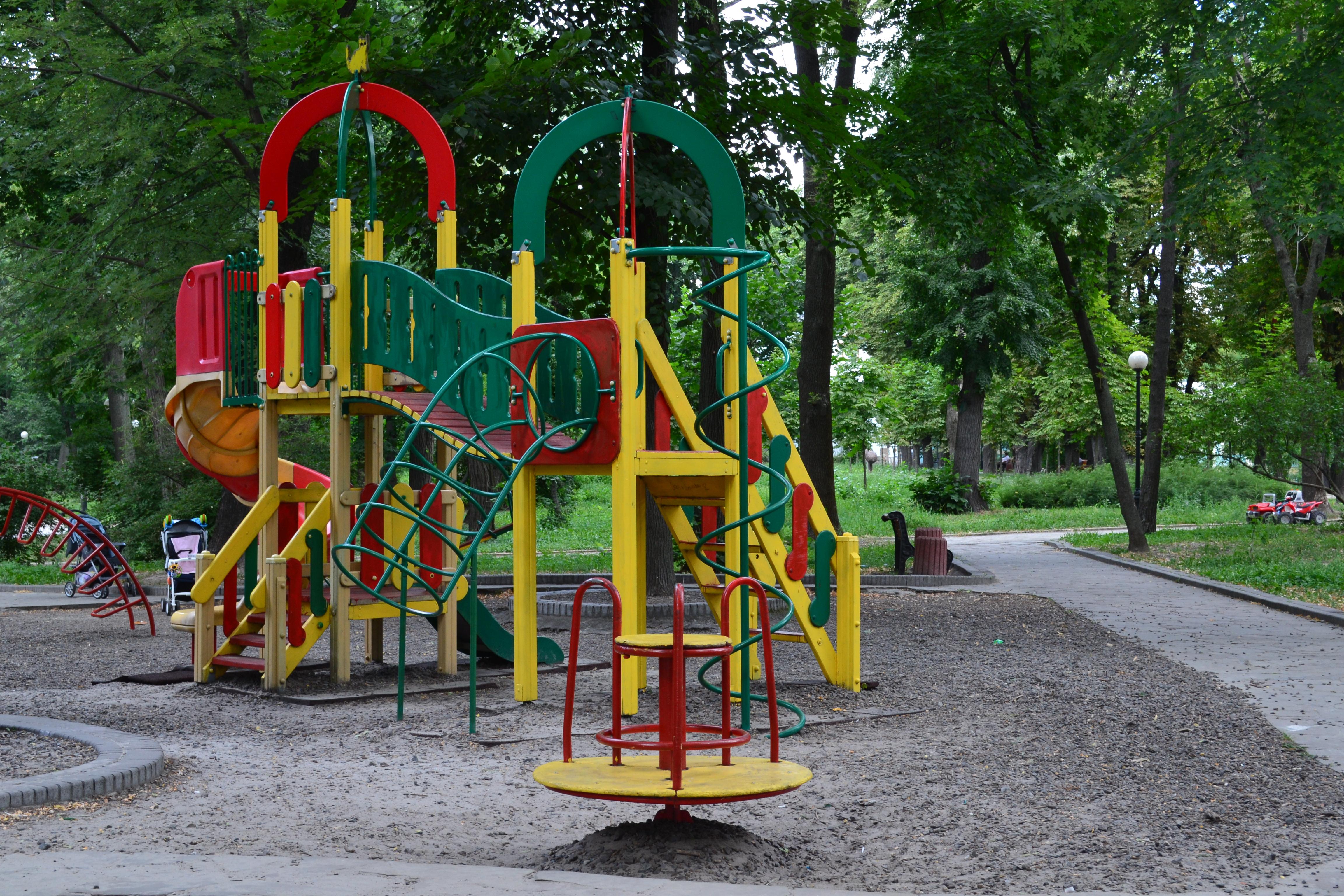 Площадка в Мариинском парке