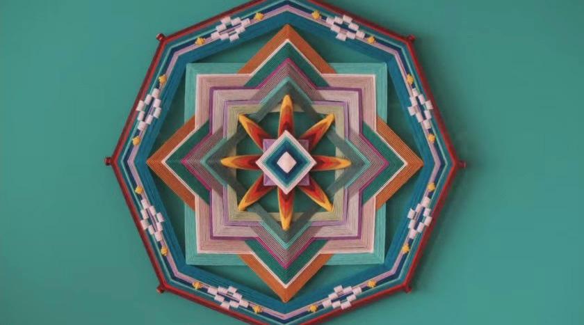 Денежные мандалы плетение