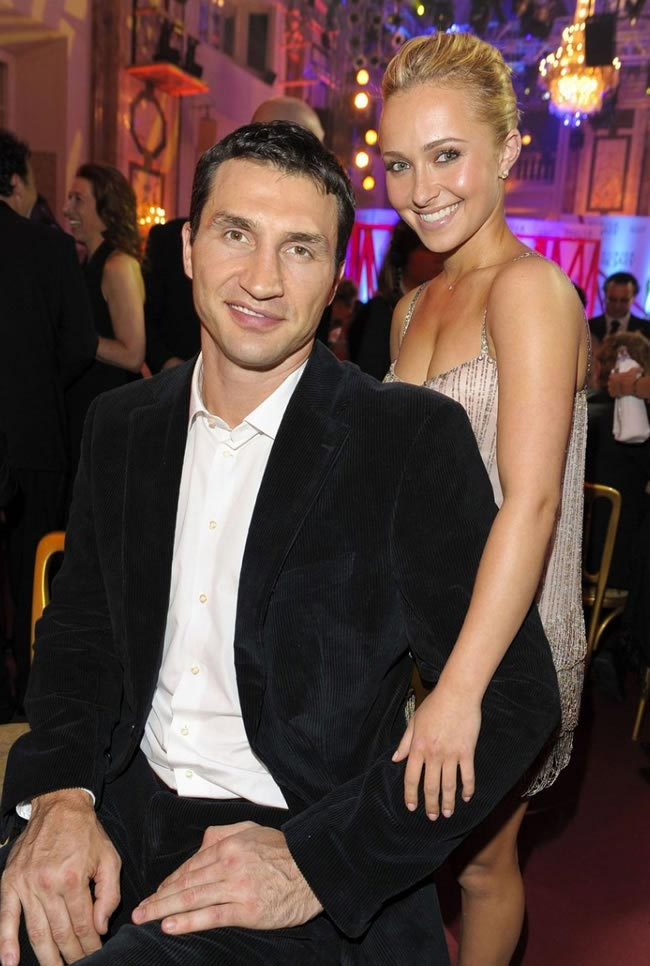 Боксер Владимир Кличко и актриса Хайден Панеттьери могут стать мужем и женой по окончании Евромайдана
