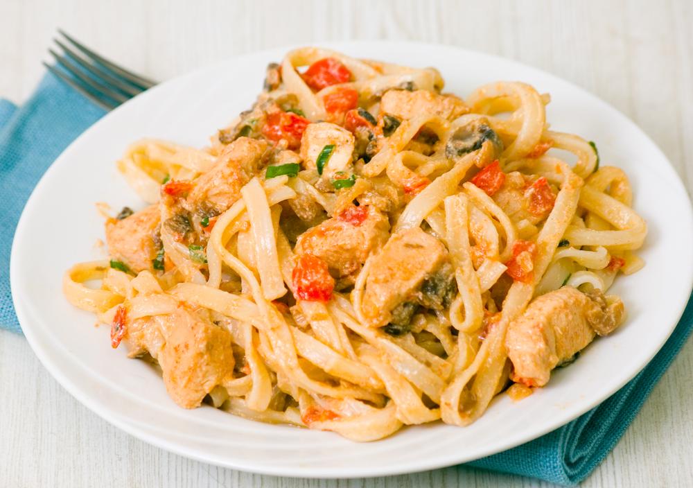 Быстрое блюдо из курицы и картошки быстро и вкусно