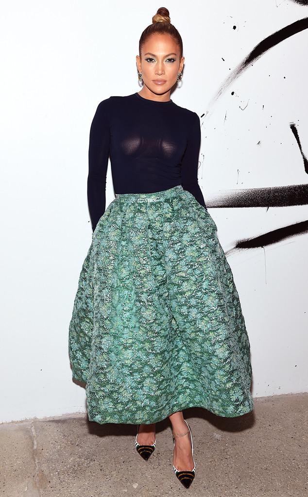 Актриса и певица Дженнифер Лопес сделала ставку на прозрачность