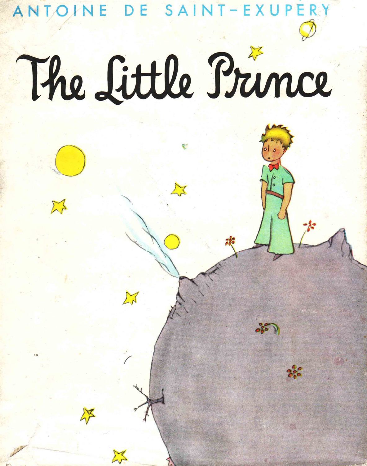 a literary analysis of the child within in the little prince by antoine de saint exupery