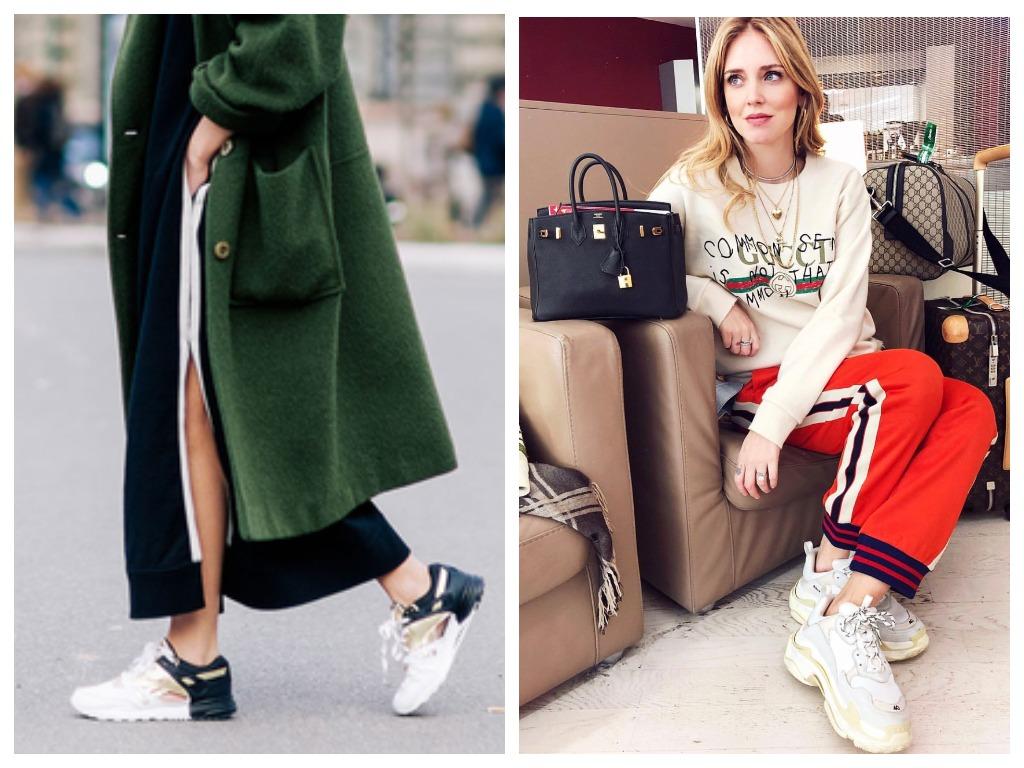 Сникерсы прочно обосновались на модных подиумах от Милана до Лондона