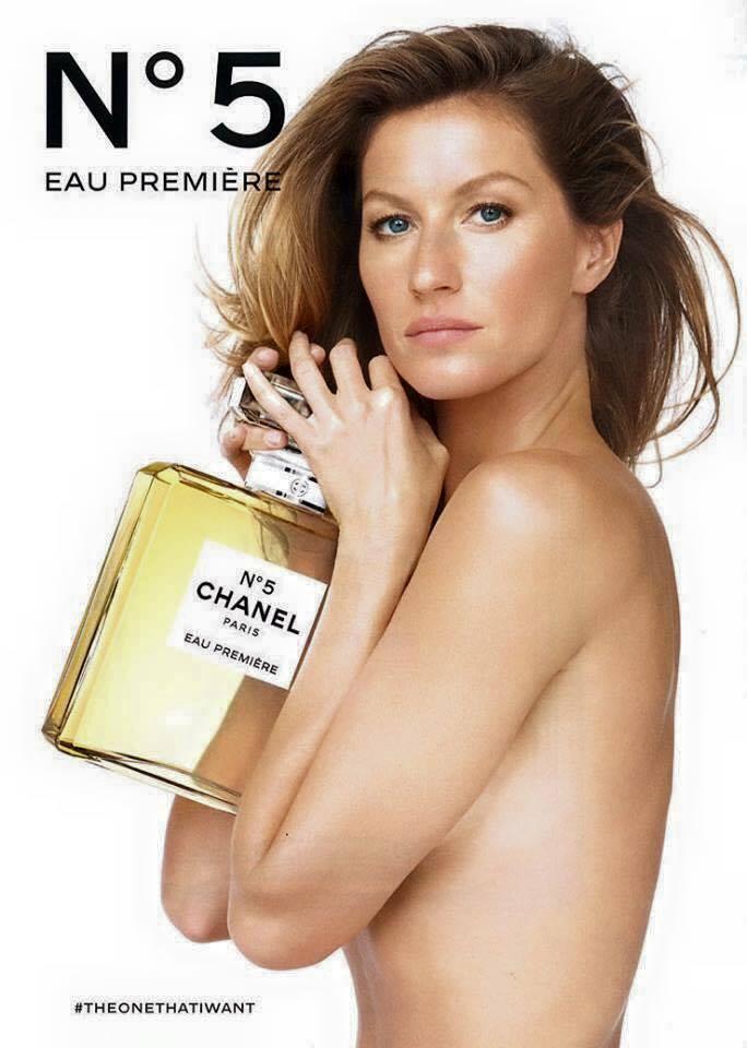 Жизель Бундхен позировала топлес для Chanel