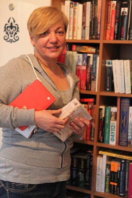 Валерия Гонтарева любит читать книги на английском языке