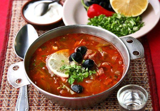 Мясная солянка: рецепты от Надежда Матвеевой
