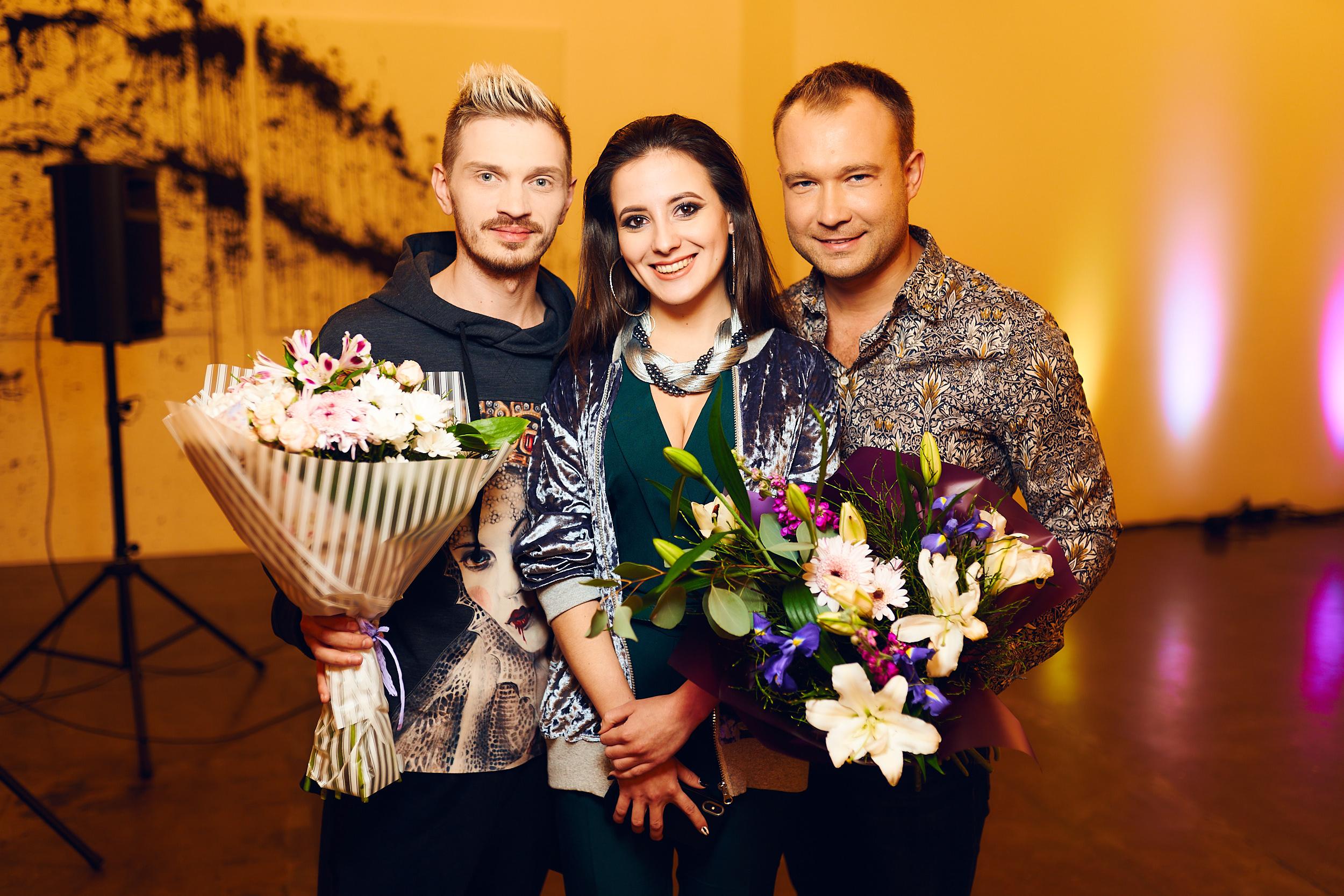 Юля Кириленко и Алексей Перин