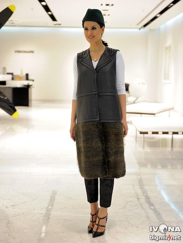 Маша Ефросинина на Vogue Fashion's Night Out