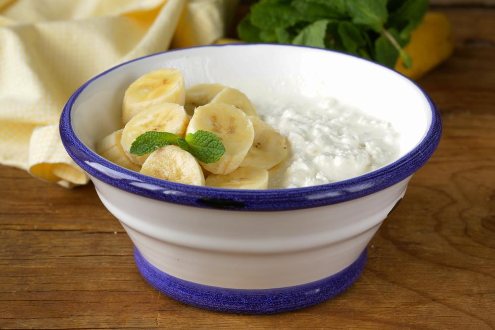 Как приготовить творожно-банановый десерт