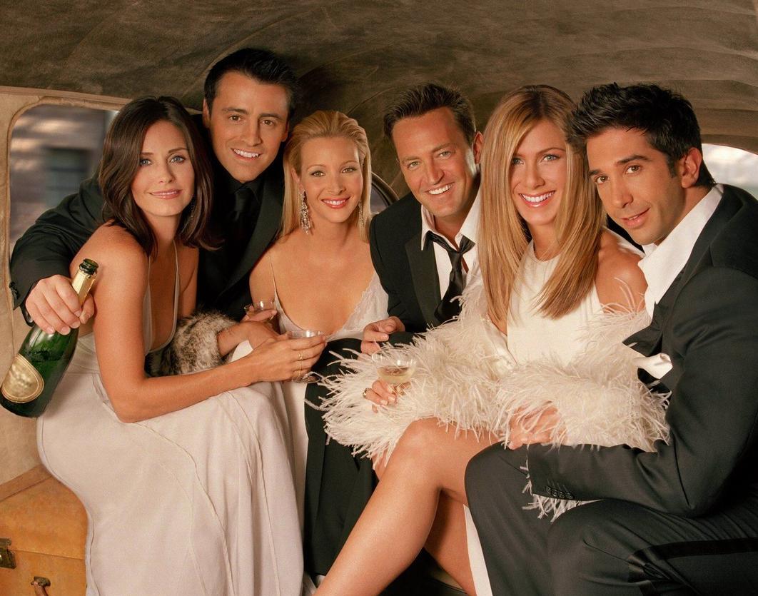 У героев сериала Друзья никогда не было нудных вечеринок, когда они собирались вместе!
