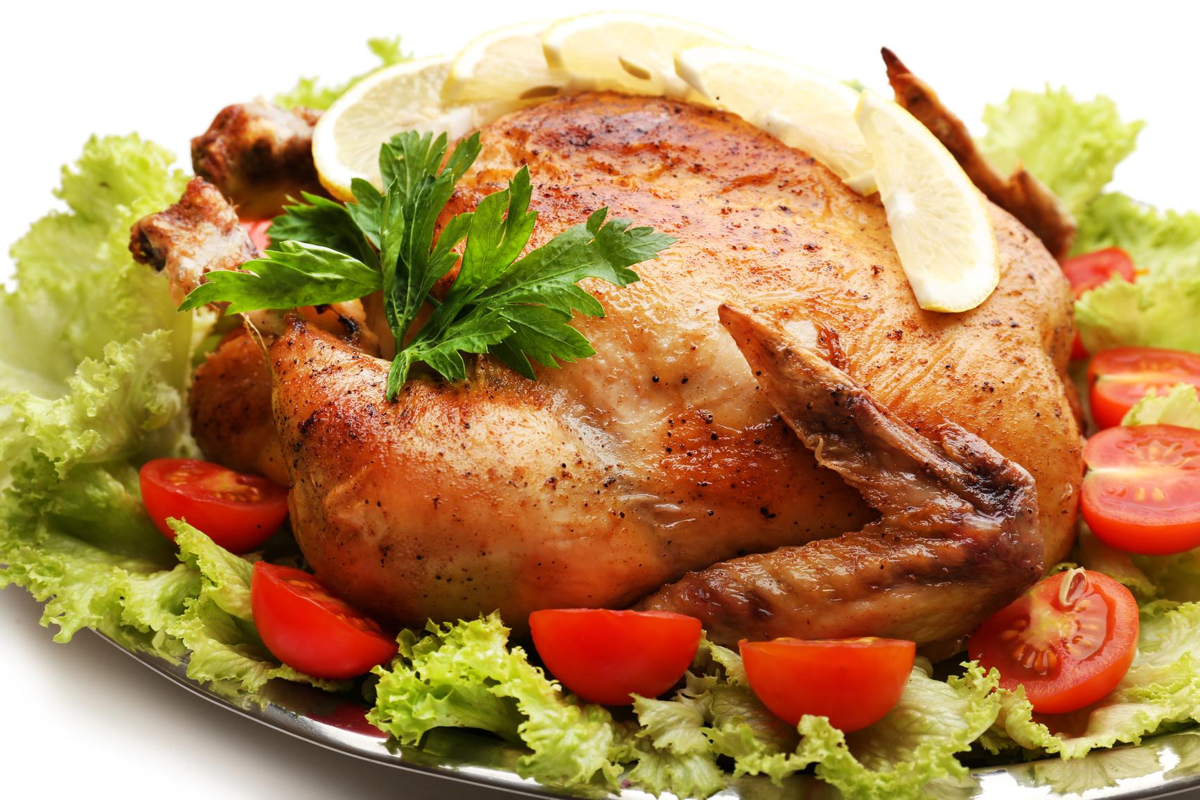 курица с чесноком и лимоном в духовке рецепт с фото пошагово в