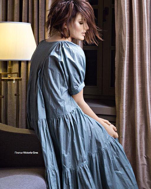 Алена Рубан в платье от VICTORIA GRES