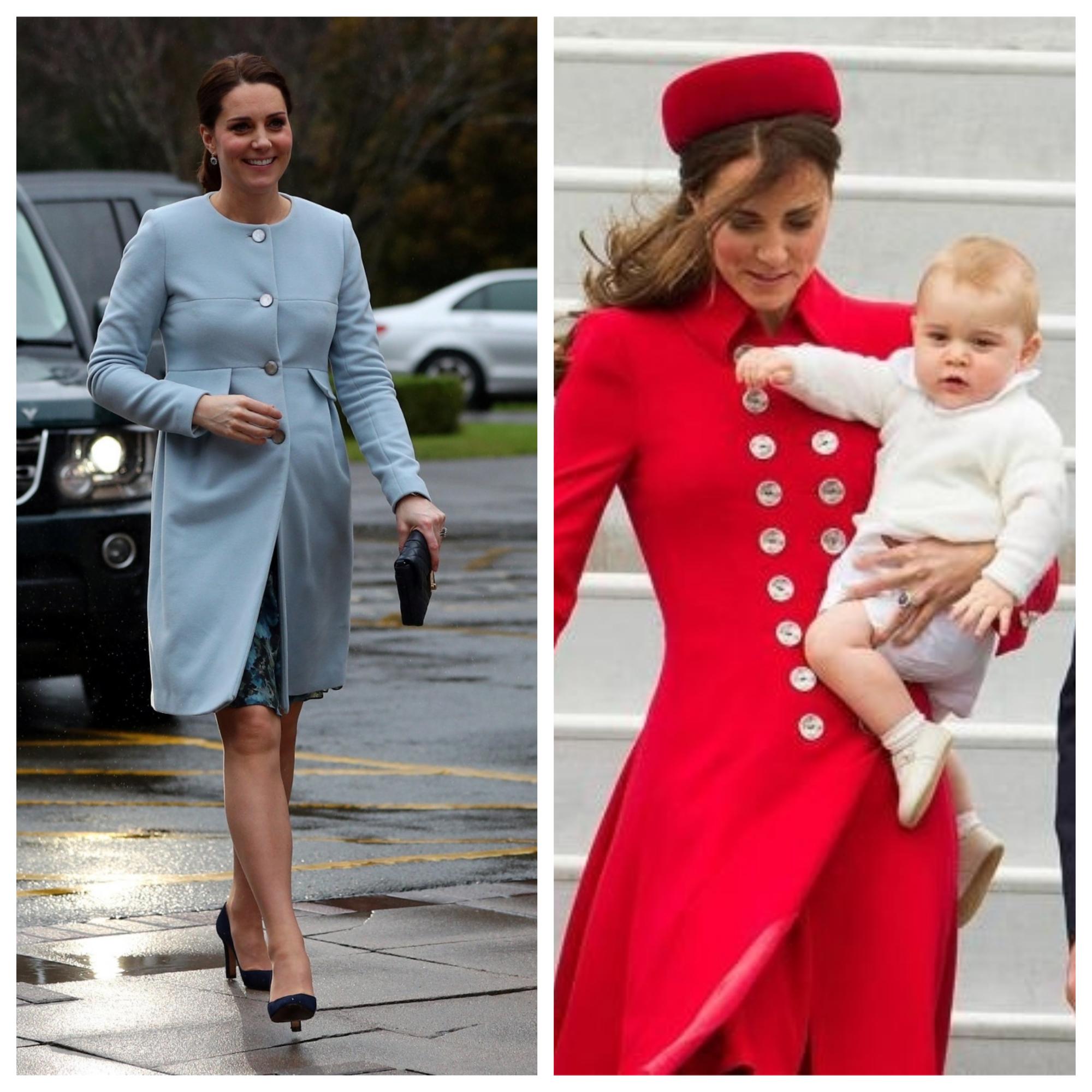 Герцогиня кембриджская Кейт - уникальный пример быстрого доведения фигуры до былого совершенства