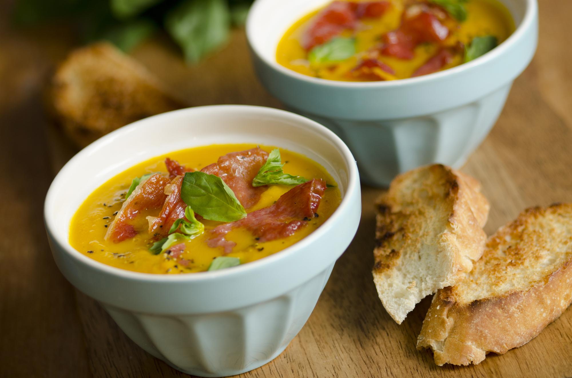 Рецепты холодных супов с дыней