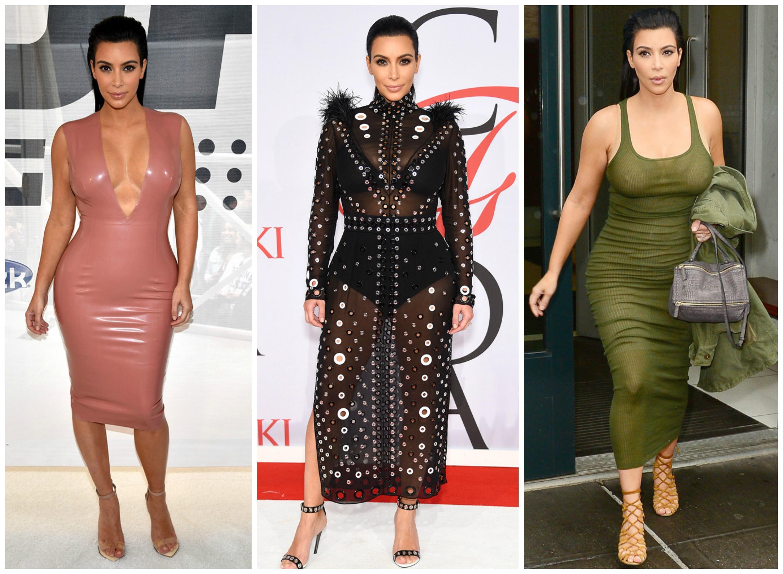 Светская львица Ким Кардашян, кажется, никогда не откажется от вызывающих нарядов и каблуков