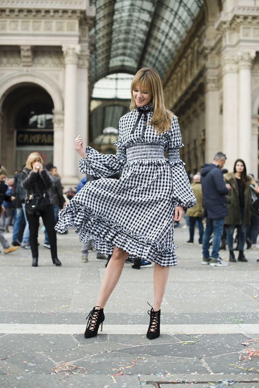 Обязательные платья на зиму 2019/206: Клетчатое