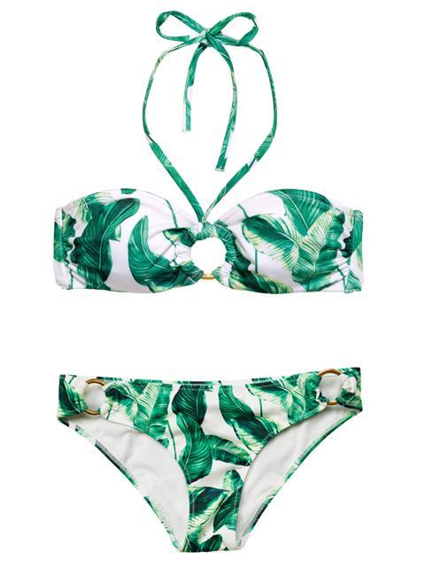 В моде лета 2015 будут актуальны купальники с флористическим рисунком