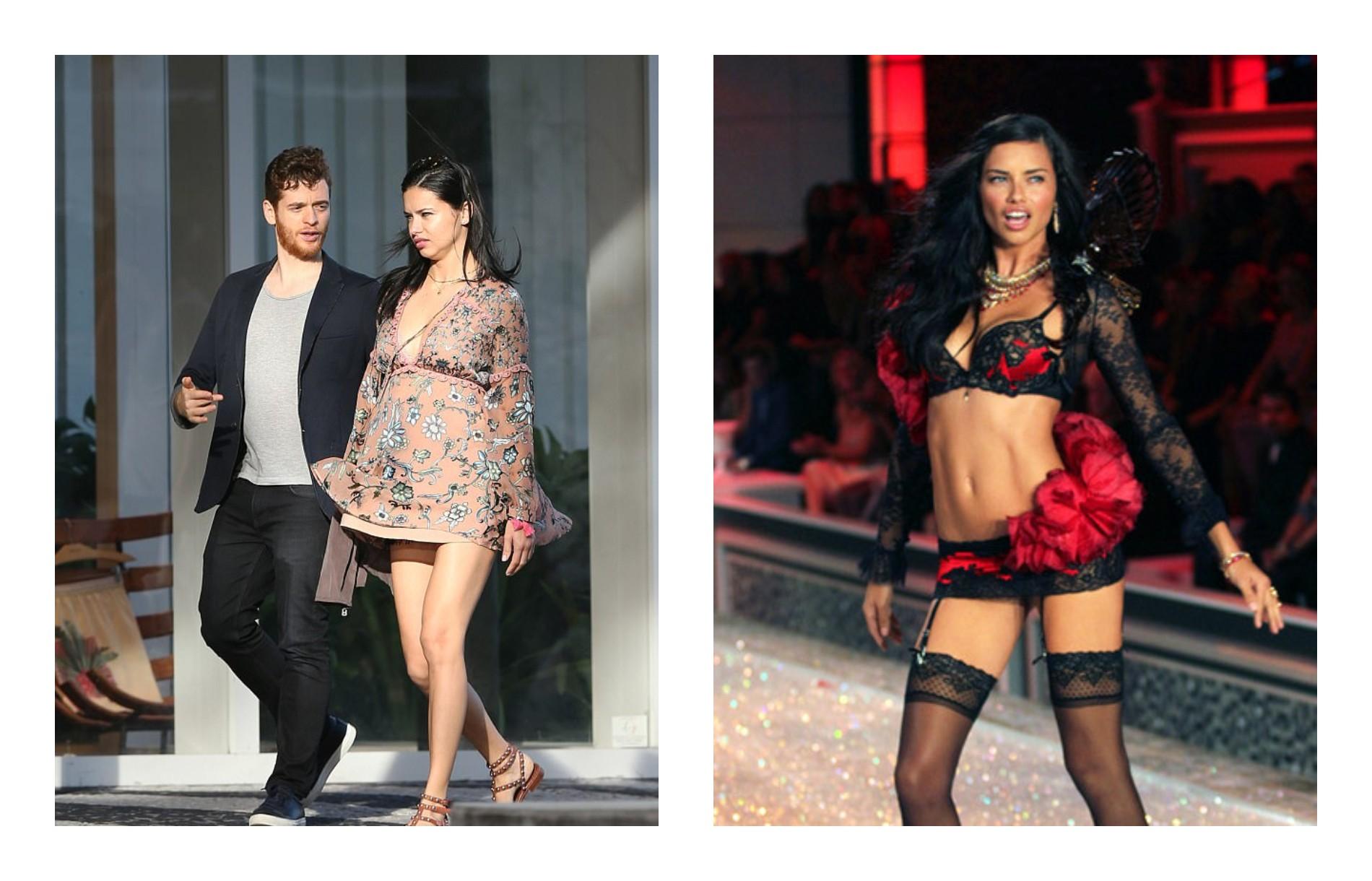 Модель Адриана Лима уже через два месяца после родов сверкала на шоу Victoria's Secret
