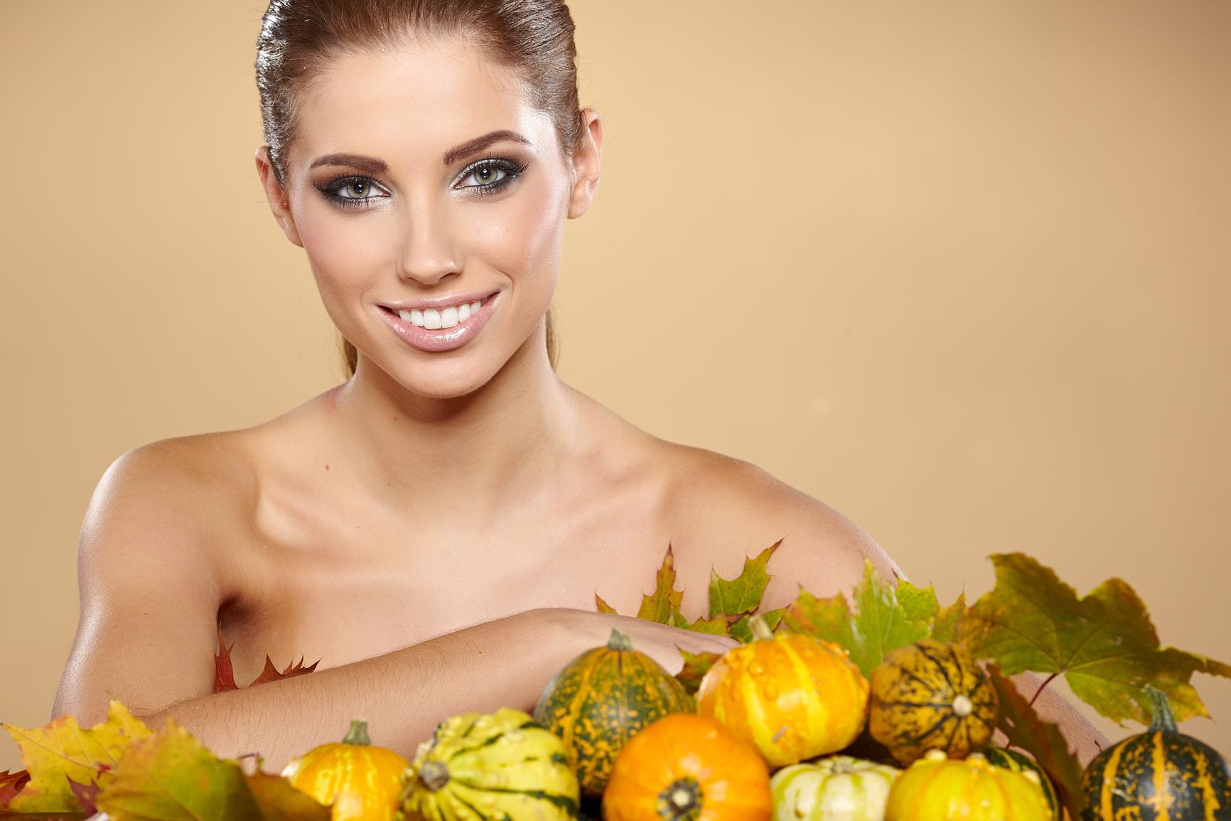 Маска из тыквы сделает твою кожу здоровой и сияющей
