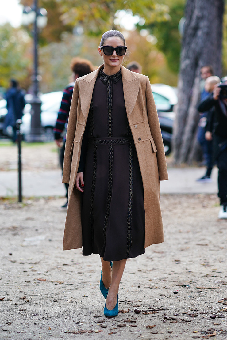 Модная верхняя одежда на весну 2020: Шоколадное пальто