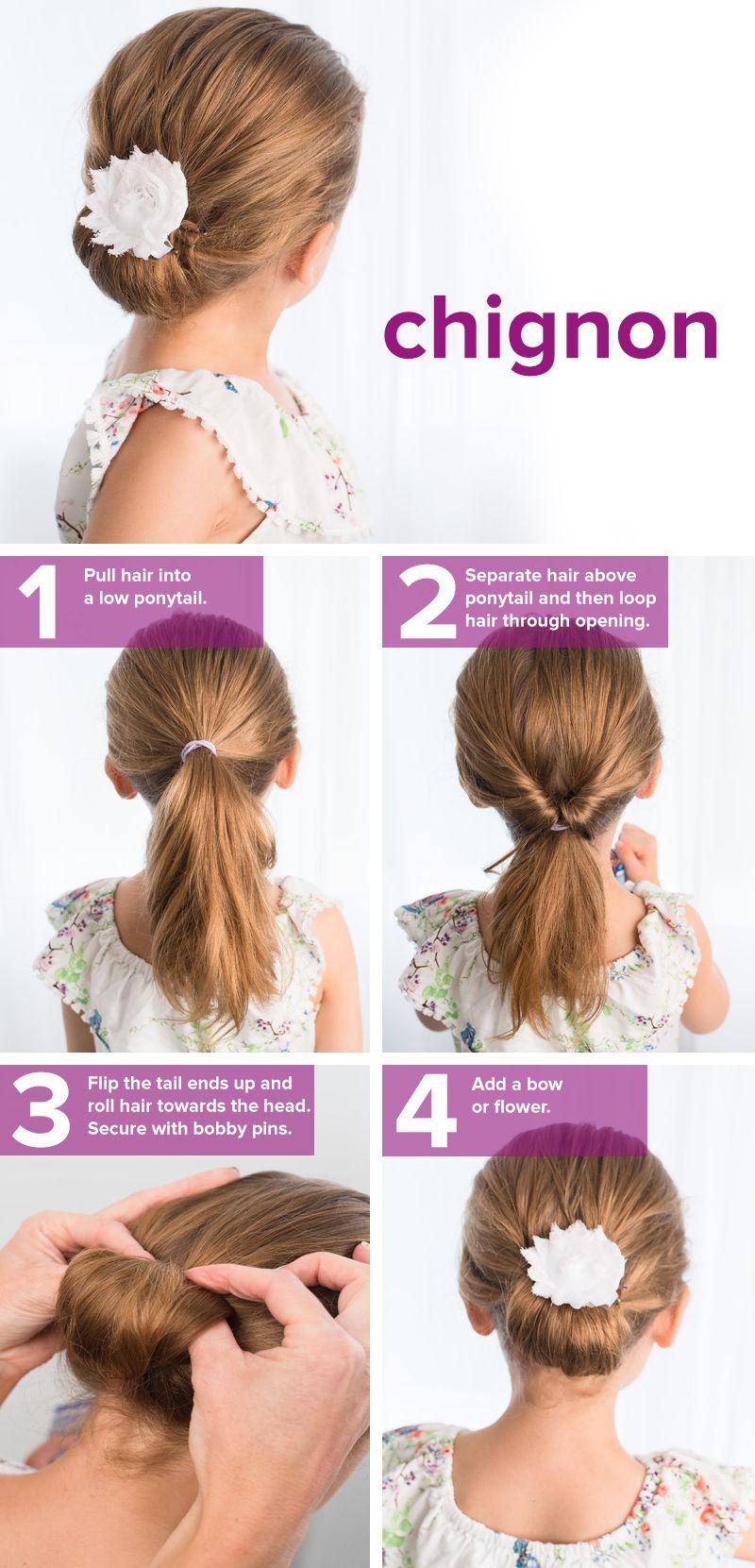 Прическа на волосы средней длины -