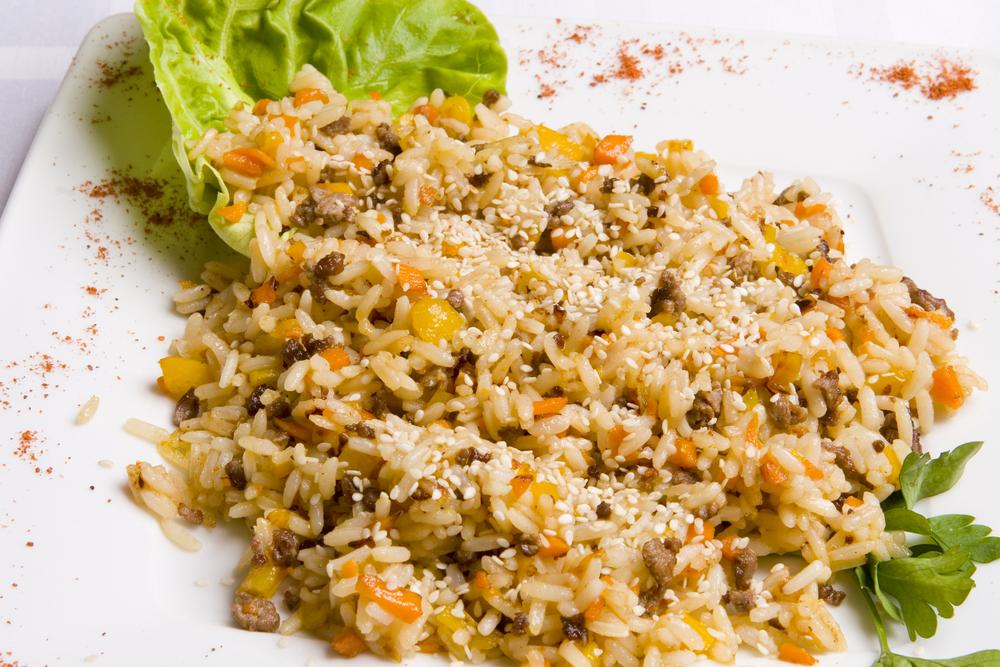 рецепты салатов из риса простые и вкусные