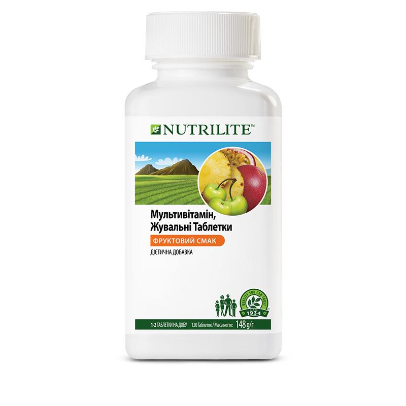 Мультивитамин, жевательные таблетки, NUTRILITE, Amway