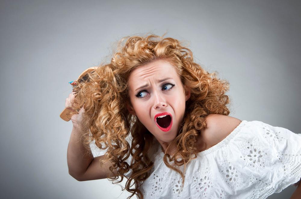 Иногда процесс расчесывания волос становится настоящим мучением
