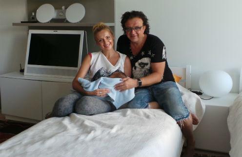 Рома Жуков присутствовал при рождении седьмого ребенка