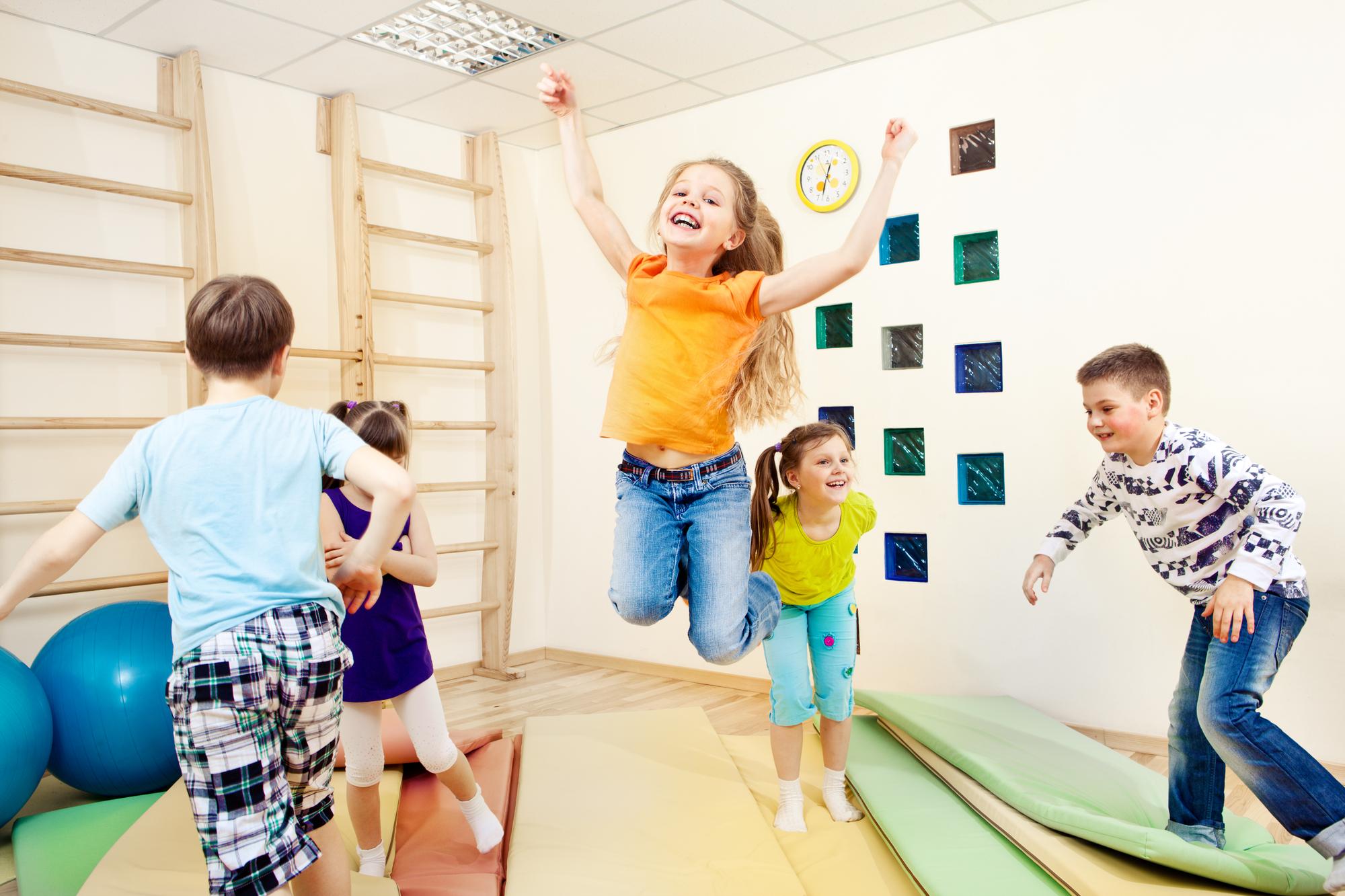 Как приучить ребенка к физичкой активности